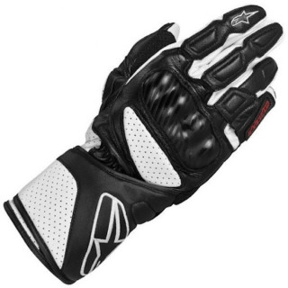 ALPINESTARS SP-8 GLOVES - NERO BIANCO