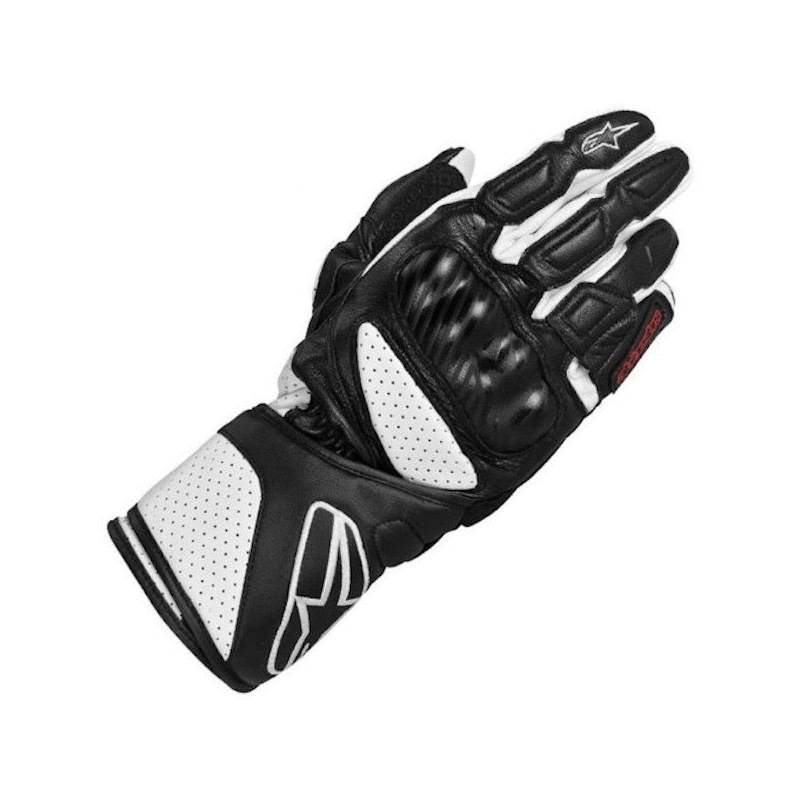 ALPINESTARS SP-8 GLOVES - BLACK WHITE