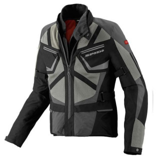 SPIDI VENTAMAX H2OUT JACKET - NERO-GRIGIO