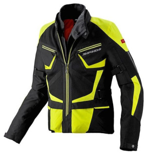 SPIDI VENTAMAX H2OUT JACKET - BLACK-FLUO