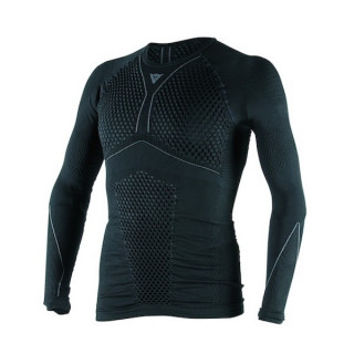 DAINESE D-CORE THERMO TEE LS UNDERWEAR TEE - BLACK ANTHRACITE