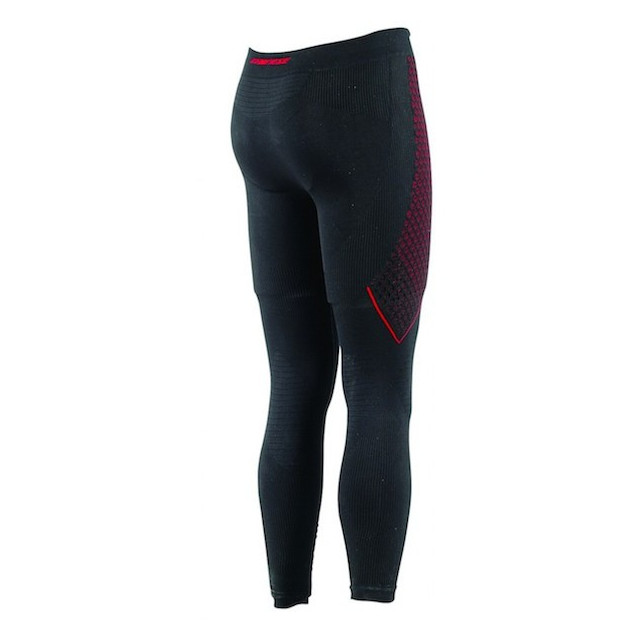 DAINESE D-CORE THERMO PANTS LL NERO ROSSO - RETRO
