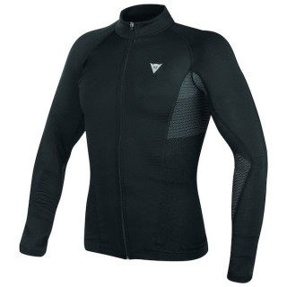 DAINESE D-CORE NO-WIND DRY TEE LS - NERO ANTRACITE