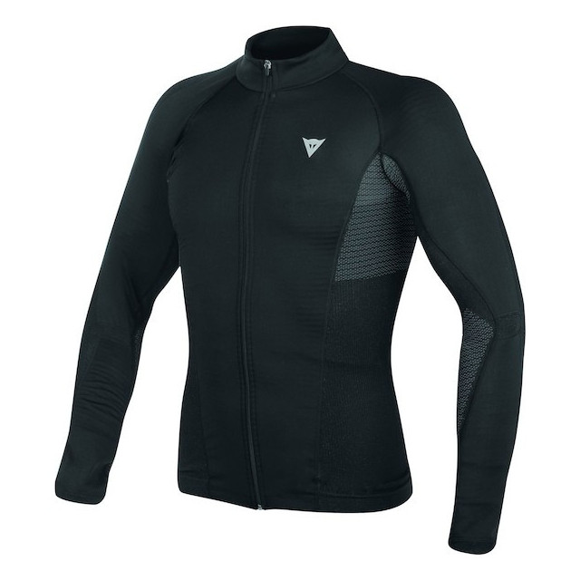 DAINESE D-CORE NO-WIND DRY TEE LS - BLACK ANTHRACITE
