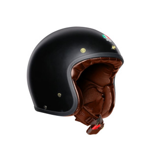 AGV X70 SOLID MAT GOLD HELMET - MATT BLACK GOLD