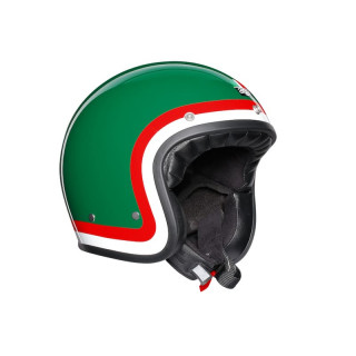 AGV X70 PASOLINI HELMET - GREEN RED WHITE