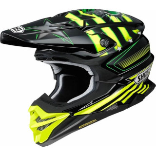 SHOEI VFX-WR GRANT3 - YELLOW TC3