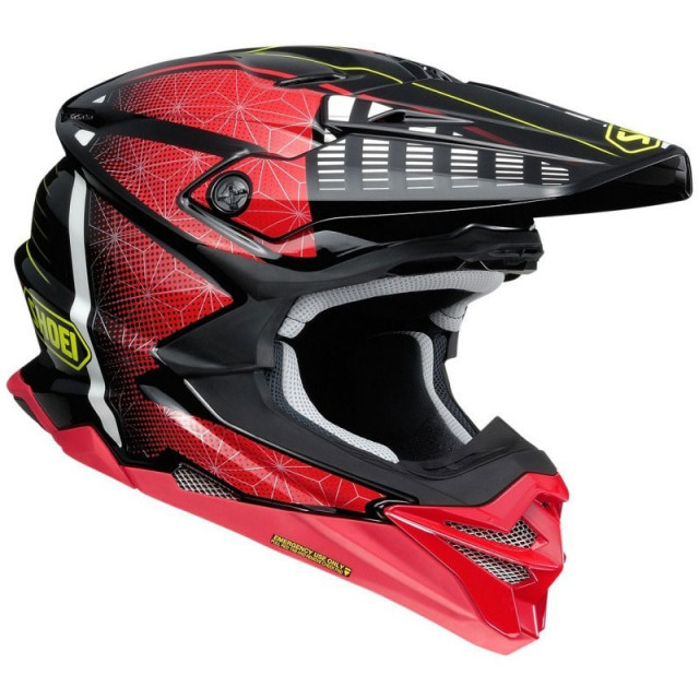 SHOEI VFX-WR BLAZON TC1 - SIDE