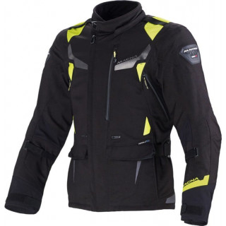 MACNA IMPACT PRO JACKET - BLACK NEON YELLOW