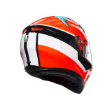 AGV K-3 SV ATTACK - BACKSIDE