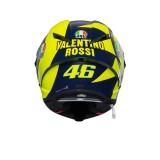 CASCO AGV PISTA GP R REPLICA SOLELUNA 2018 - BACK 2