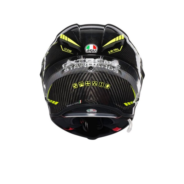 AGV PISTA GP R PROJECT 46 3.0 HELMET - BACK