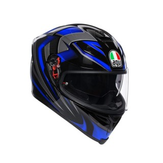 AGV K-5 S HURRICANE 2.0 - BLUE