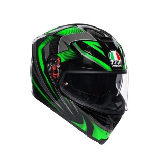 AGV K-5 S HURRICANE 2.0 - GREEN