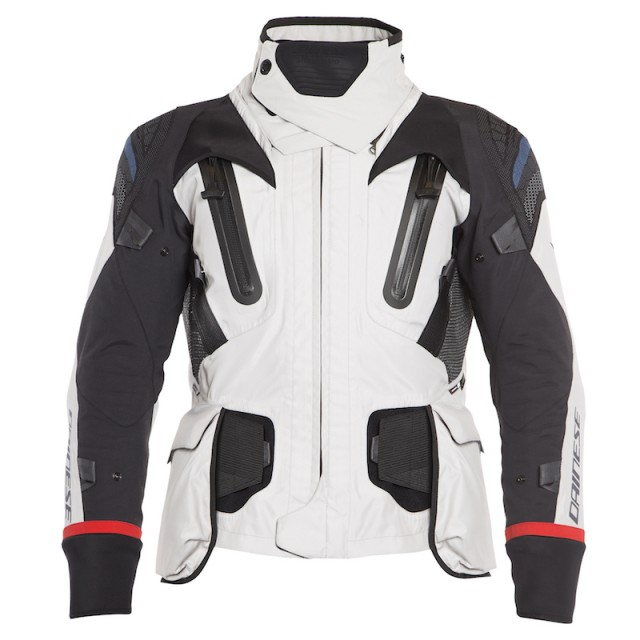 GIACCA DAINESE ANTARTICA GORE-TEX JACKET - Light Gray-Black - FRONTE