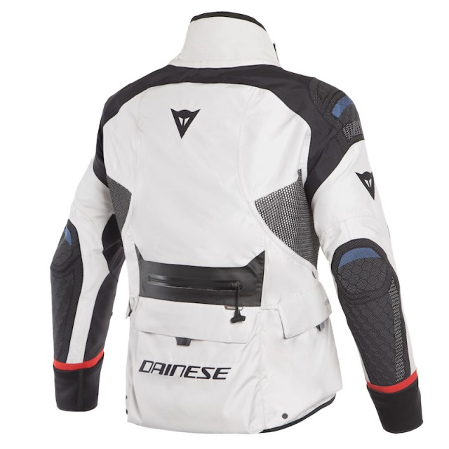 DAINESE ANTARTICA GORE-TEX JACKET - Light Gray-Black - SIDE BACK