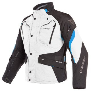 GIACCA DAINESE DOLOMITI GORE-TEX JACKET - Light Grey-Black-Electron Blue