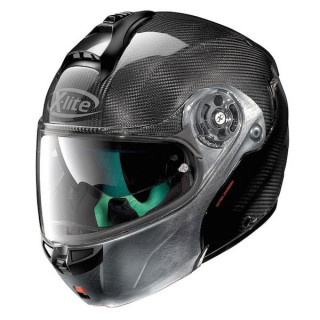 X-LITE X-1004 ULTRA CARBON DYAD 3 HELMET - SCRATCHED CHROME