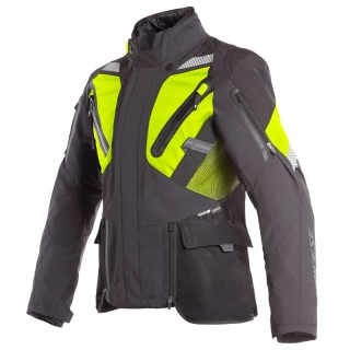 GIACCA DAINESE GRAN TURISMO GORE-TEX JACKET - Black-Yellow Fluo