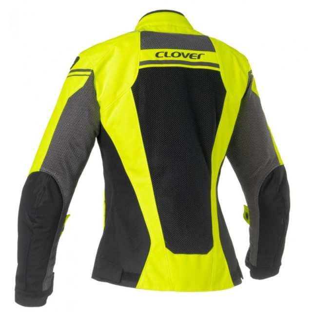 GIACCA CLOVER AIRJET 4 LADY FLUO - BACK
