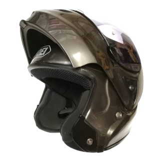 EXAMPLE OF LINER RECONSTRUCTION ON  SHOEI MODULAR HELMET
