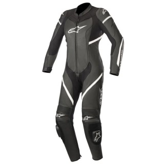 TUTA ALPINESTARS STELLA KIRA LEATHER SUIT - Black-White