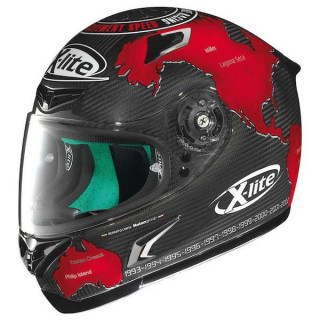 X-LITE X-802RR ULTRA CARBON REPLICA HELMET - CHECA