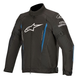GIACCA ALPINESTARS GUNNER V2 WATERPROOF JACKET - Black-Bright Blue