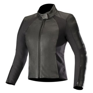 GIACCA ALPINESTARS VIKA V2 WOMEN'S LEATHER JACKET - Black