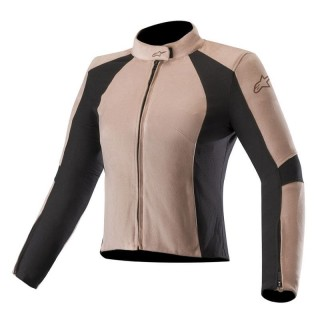 GIACCA ALPINESTARS VIKA V2 WOMEN'S VEGAN SUEDE JACKET - Blush Pink-Black