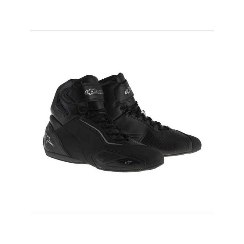 ALPINESTARS FASTER-2 WATERPROOF SHOE - BLACK