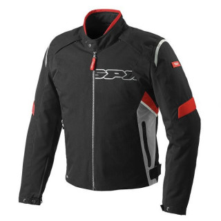 SPIDI FLASH H2OUT JACKET - BLACK-RED