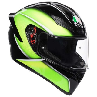 CASCO AGV K1 QUALIFY - LIME