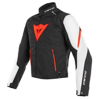 GIACCA DAINESE LAGUNA SECA 3 D-DRY - White-Fluo Red-Black