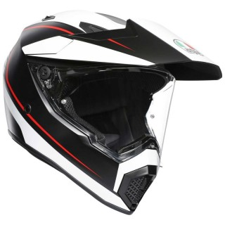 AGV AX-9 PACIFIC ROAD - WHITE RED