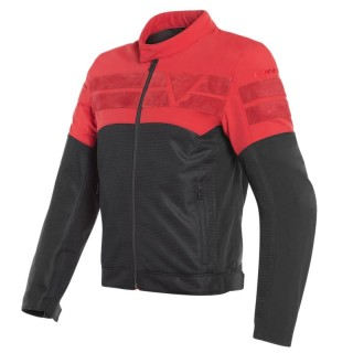 DAINESE AIR-TRACK TEX JACKET - Black-Red
