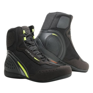 SCARPE DAINESE MOTORSHOE D1 DWP SHOES - Black-Fluo Yellow-Anthracite
