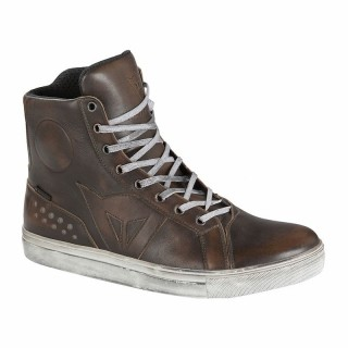 DAINESE STREET ROCKER D-WP SHOES - Dark Brown