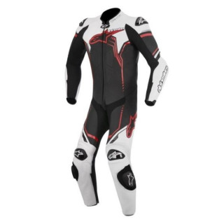 ALPINESTARS GP PLUS LEATHER SUIT - BLACK WHITE RED