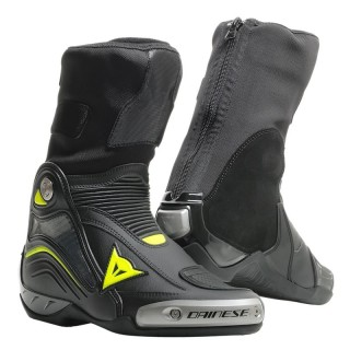 STIVALI DAINESE AXIAL D1 BOOTS - Black-Yellow Fluo