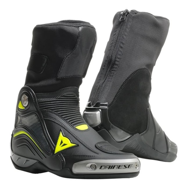 DAINESE AXIAL D1 BOOTS - Black-Yellow Fluo