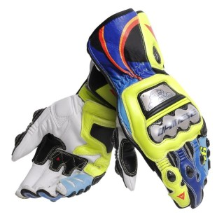 DAINESE FULL METAL 6 GLOVES REPLICA VALENTINO ROSSI