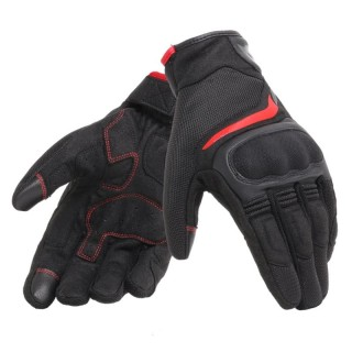 DAINESE AIR MASTER GLOVES - BLACK-RED
