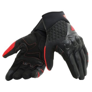 DAINESE X-MOTO GLOVES - BLACK-FLUO RED