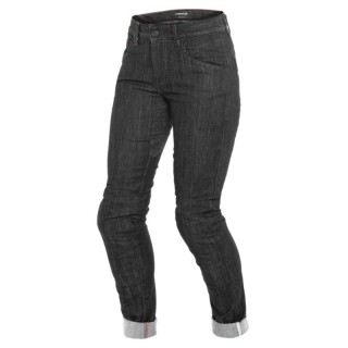 DAINESE ALBA SLIM LADY JEANS - BLACK RINSED