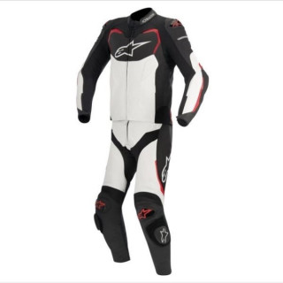 ALPINESTARS GP PRO 2PC LEATHER SUIT - BLACK RED WHITE