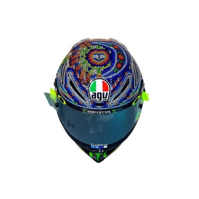 AGV PISTA GP R ROSSI WINTER TEST 2018 LIMITED EDITION - FRONT