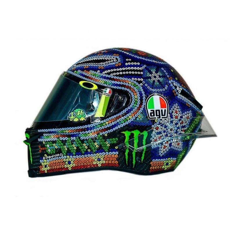 AGV PISTA GP R ROSSI WINTER TEST 2018 LIMITED EDITION