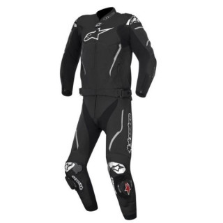 TUTA ALPINESTARS ATEM 2PC LEATHER SUIT - NERO