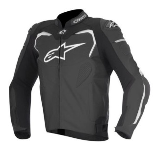 GIACCA ALPINESTARS GP PRO LEATHER JACKET - NERO